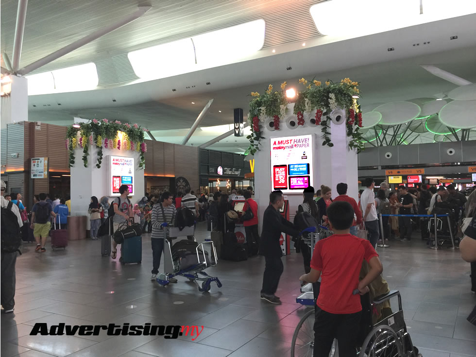 airport klia2 advertising